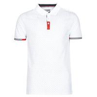 Textil Muži Polo s krátkými rukávy Yurban NELLY Bílá