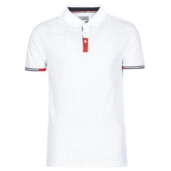 Textil Muži Polo s krátkými rukávy Casual Attitude NELLY Bílá