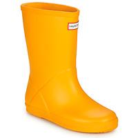Boty Děti Holínky Hunter KIDS FIRST CLASSIC Žlutá