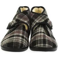 Boty Muži Papuče Mjartan Pánske papuče  MILAN 3 tmavosivá