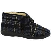 Boty Muži Papuče Mjartan Pánske papuče  MILAN tmavomodrá
