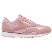 Boty Dívčí Nízké tenisky Reebok Sport CL Nylon Růžové