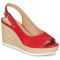 Boty Ženy Sandály Geox D PONZA Červená