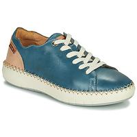 Boty Ženy Nízké tenisky Pikolinos MESINA W6B Modrá / Růžová