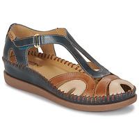 Boty Ženy Sandály Pikolinos CADAQUES W8K Modrá / Velbloudí hnědá