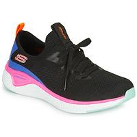 Boty Ženy Fitness / Training Skechers SOLAR FUSE Černá / Růžová / Modrá