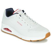 Boty Muži Nízké tenisky Skechers UNO STAND ON AIR Bílá