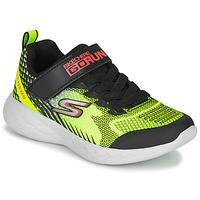 Boty Chlapecké Multifunkční sportovní obuv Skechers GO RUN 600 BAXTUX Černá / Žlutá