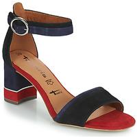 Boty Ženy Sandály Tamaris DALINA Tmavě modrá / Červená