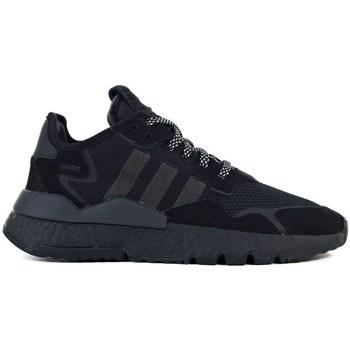 Boty Děti Nízké tenisky adidas Originals Nite Jogger J Černé