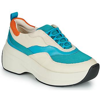 Boty Ženy Nízké tenisky Vagabond Shoemakers SPRINT 2.0 Béžová / Modrá