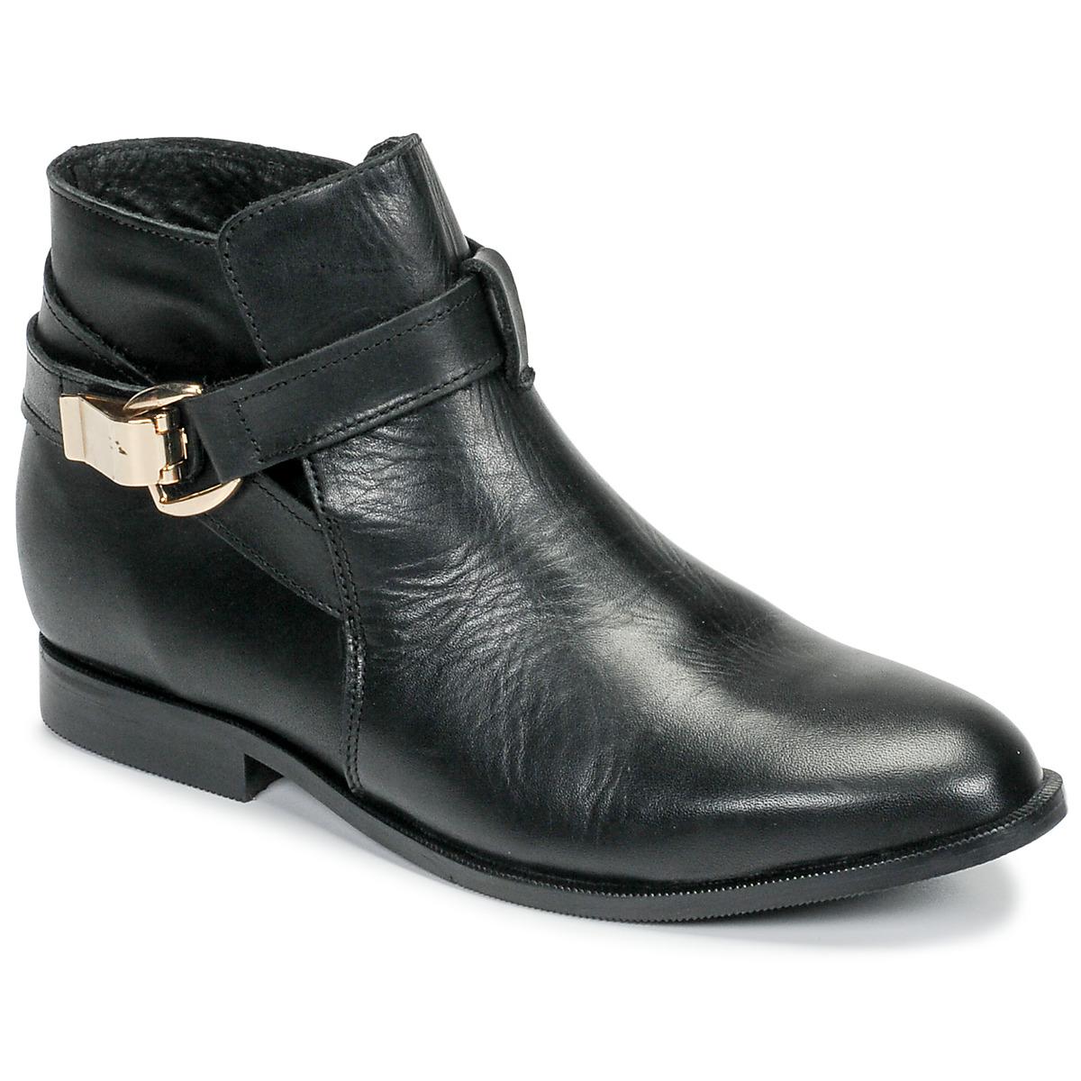 Kotnikove boty BT London DOODI Černá