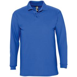 Textil Muži Polo s dlouhými rukávy Sols WINTER 2 CASUAL MEN Azul