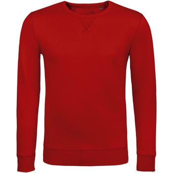Textil Muži Mikiny Sols SULLY CASUAL MEN Rojo