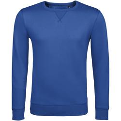 Textil Muži Mikiny Sols SULLY CASUAL MEN Azul