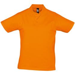 Textil Muži Polo s krátkými rukávy Sols PRESCOTT CASUAL DAY Naranja