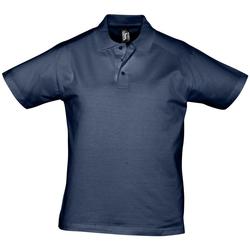 Textil Muži Polo s krátkými rukávy Sols PRESCOTT CASUAL DAY Azul