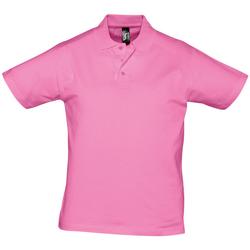 Textil Muži Polo s krátkými rukávy Sols PRESCOTT CASUAL DAY Rosa