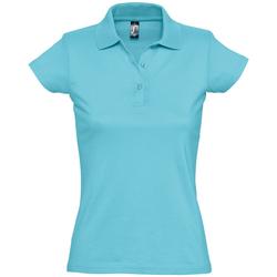 Textil Ženy Polo s krátkými rukávy Sols PRESCOTT CASUAL DAY Azul