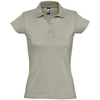 Textil Ženy Polo s krátkými rukávy Sols PRESCOTT CASUAL DAY Beige