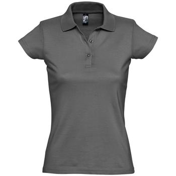 Textil Ženy Polo s krátkými rukávy Sols PRESCOTT CASUAL DAY Gris