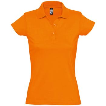 Textil Ženy Polo s krátkými rukávy Sols PRESCOTT CASUAL DAY Naranja