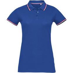 Textil Ženy Polo s krátkými rukávy Sols PRESTIGE MODERN WOMEN Azul