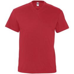 Textil Muži Trička s krátkým rukávem Sols VICTORY COLORS Rojo