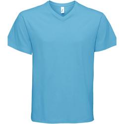 Textil Muži Trička s krátkým rukávem Sols VICTORY COLORS Azul