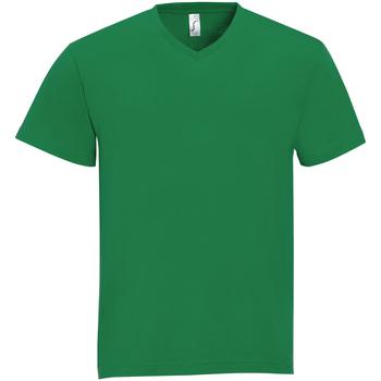 Textil Muži Trička s krátkým rukávem Sols VICTORY COLORS Verde