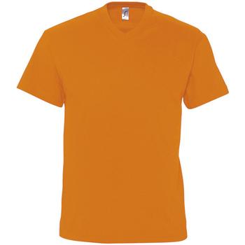 Textil Muži Trička s krátkým rukávem Sols VICTORY COLORS Naranja