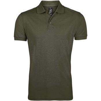 Textil Muži Polo s krátkými rukávy Sols PRIME ELEGANT MEN Marr?n