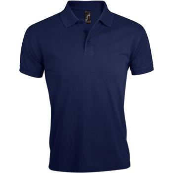 Textil Muži Polo s krátkými rukávy Sols PRIME ELEGANT MEN Azul