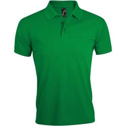 Textil Muži Polo s krátkými rukávy Sols PRIME ELEGANT MEN Verde