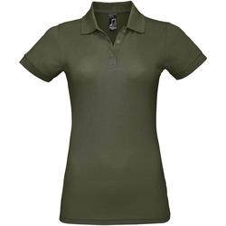 Textil Ženy Polo s krátkými rukávy Sols PRIME ELEGANT WOMEN Verde