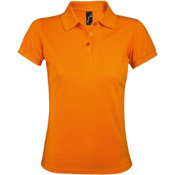 Textil Ženy Polo s krátkými rukávy Sols PRIME ELEGANT WOMEN Naranja