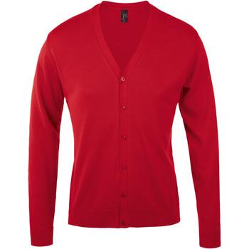 Textil Muži Svetry / Svetry se zapínáním Sols GOLDEN ELEGANT MEN Rojo
