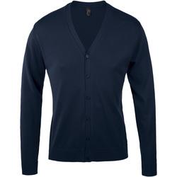 Textil Muži Svetry / Svetry se zapínáním Sols GOLDEN ELEGANT MEN Azul