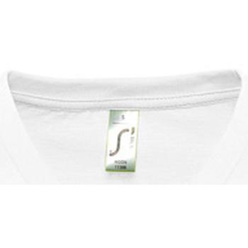 Textil Ženy Trička s krátkým rukávem Sols MOON COLORS GIRL Blanco