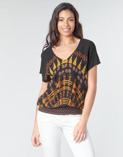 Textil Ženy Halenky / Blůzy Desigual NAPOLES Vícebarevná