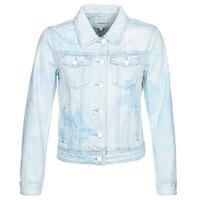 Textil Ženy Riflové bundy Desigual WHAII Modrá