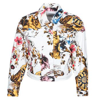 Textil Ženy Riflové bundy Desigual FANTASY