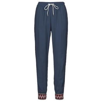 Textil Ženy Turecké kalhoty / Harémky Desigual ISABELLA Tmavě modrá
