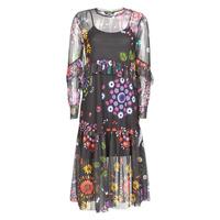 Textil Ženy Společenské šaty Desigual PORTLAND Vícebarevná