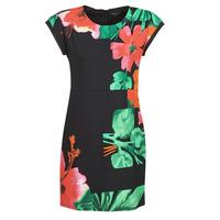Textil Ženy Krátké šaty Desigual PACIFIC OCEAN Vícebarevná