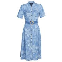 Textil Ženy Společenské šaty Desigual KATE Modrá
