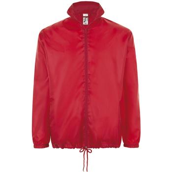 Textil Větrovky Sols SHIFT HIDRO SPORT Rojo