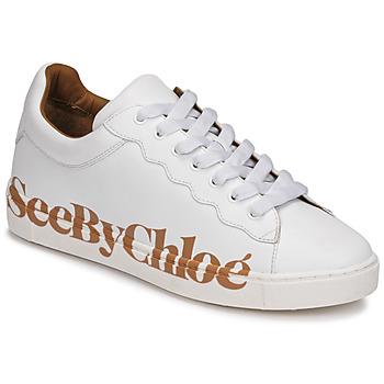 Boty Ženy Nízké tenisky See by Chloé SB33125A Bílá