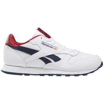 Boty Děti Nízké tenisky Reebok Sport Classic Leather Bílé,Červené,Tmavomodré