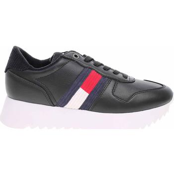 Boty Ženy Nízké tenisky Tommy Hilfiger Dámská obuv  EN0EN00658 BDS black Černá